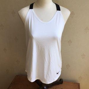 Nike Dri Fit Elastika Double Strap Tank Top Size S